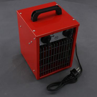 TF370, teplovzdušné topení 2000W s ventilátorem a termostatem