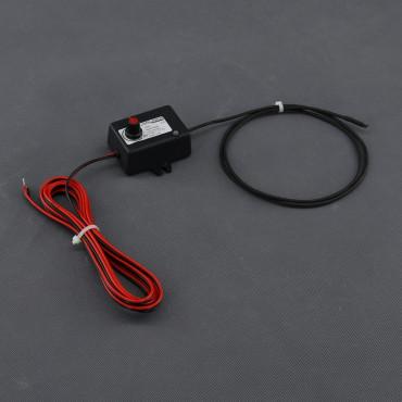 TF76, 12V/ 10W topný kabel s termostatem (1 metr)