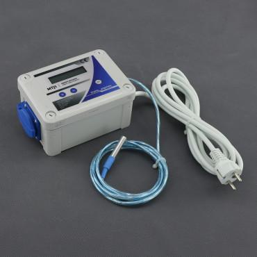 MTJ1, digitální termostat (topení nebo chlazení)