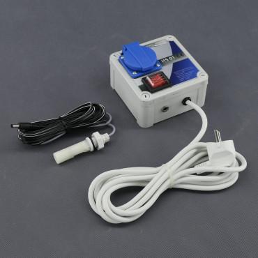 HS01, hladinový plovákový spínač, bezpečný