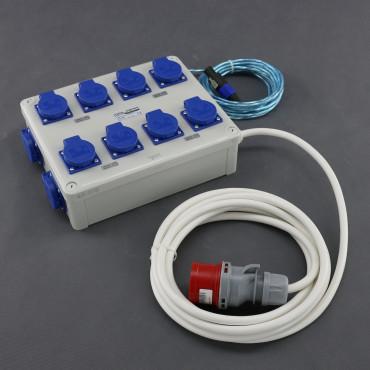 MZP2, přídavný rozvaděč 8x 1200W (8+2+1), 400V 16A