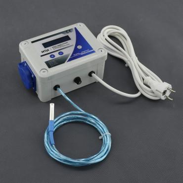 MTJ4, DVOJITÝ - digitální termostat s 2x regulací (min a max) pro odtah/ přítah
