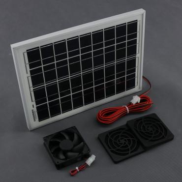 SO11, 55m3/ h, 10W solární větrací systém STANDARD