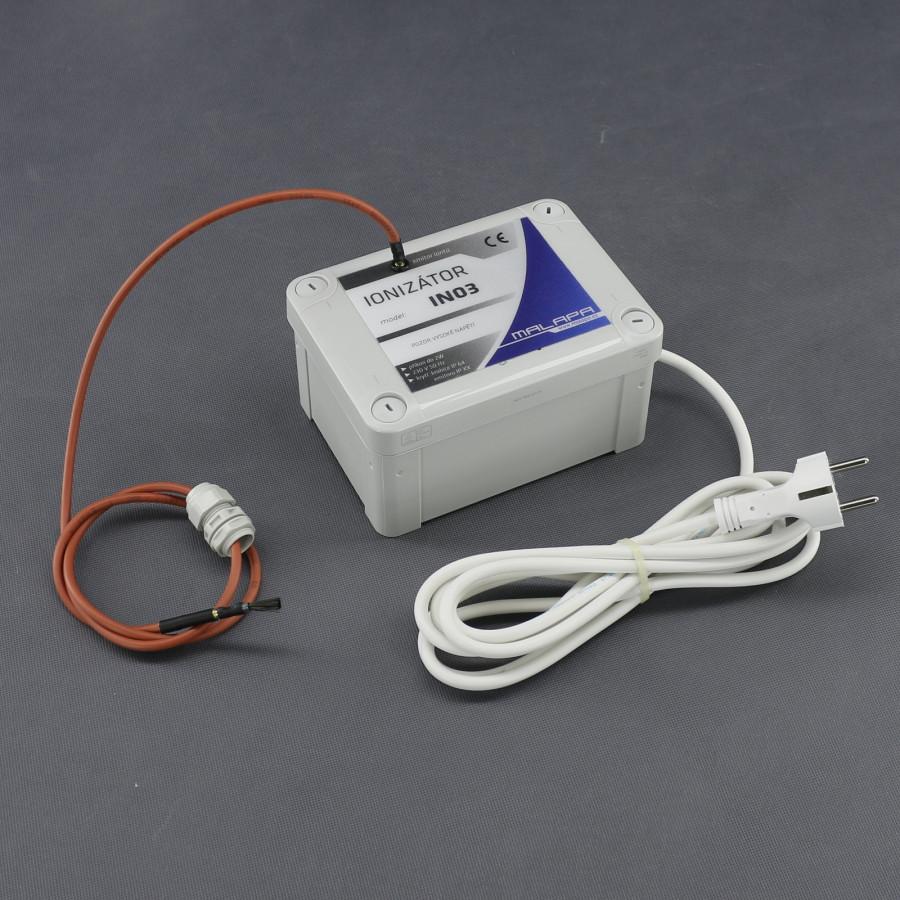 IN03, ionizátor vzduchu do vzduchotechniky