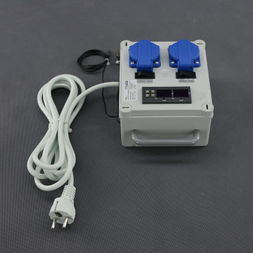 MTL2, DVOJITÝ digitální termostat (topení nebo chlazení)