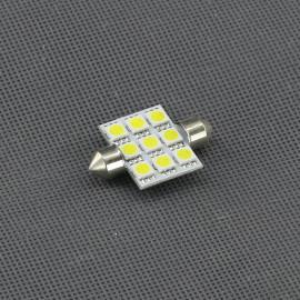 SI06, 12V/ 2,5W LED žárovka sufit, 9x LED
