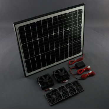 SO14, 460m3/ h, 50W solární větrací systém STANDARD