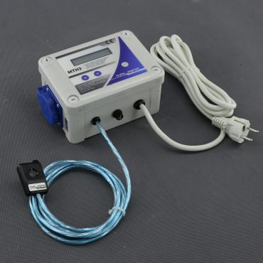 MTH3, DVOJITÝ- digitální termostat pro topení + termostat kombinovaný s hygrostatem a regulací
