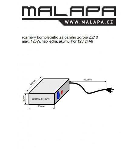 ZZ10, 12V Záložní zdroj pro oběhové čerpadlo