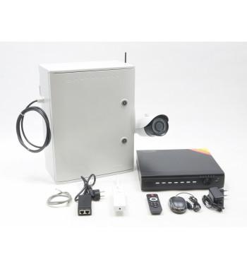 KP05, bezdrátový Wi-Fi kamerový bezpečnostní systém se záznamem, napájený z veřejného osvětlení