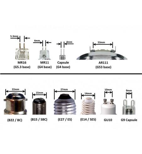 SI00, 12V/ 1,8W LED žárovka MR16, 21x LED