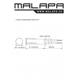 AL54, magnetické čidlo pro vestavbu (NO)