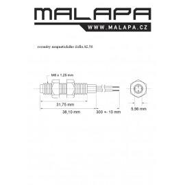 AL56, magnetické čidlo pro vestavbu M8 (NO)