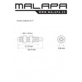AL57, magnet pro vestavbu M8