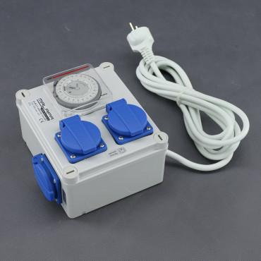KL00, rozvaděč 2x 600W (2+1), 230V