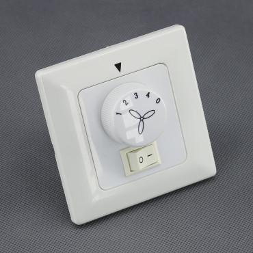 TR72, regulátor napětí pro stropní ventilátor se světlem 100W + 300W (místo vypínače)