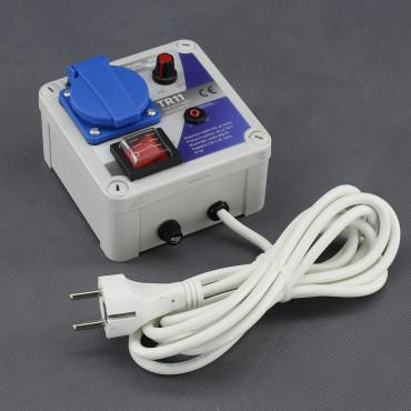 TR11, regulátor napětí plynulý 900W (na plochu)