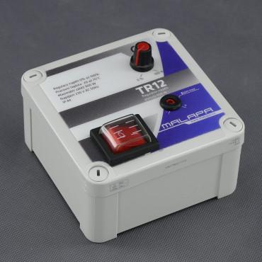 TR12, regulátor napětí 900W plynulý (pod omítku nebo na plochu)
