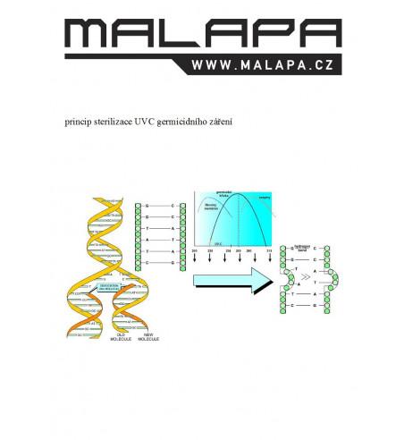 GL10, KOMPLET (IP44) UV-C germicidní svítidlo 2x 36W (G13)