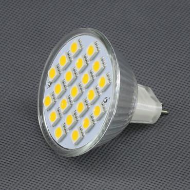 SI01, 12V/ 4W LED žárovka MR16, 21x LED