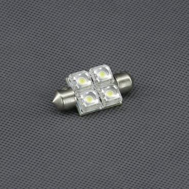 SI16, 12V/ 0,4W LED žárovka sufit, 4x LED