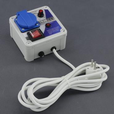 TR20, regulátor napětí plynulý 2200W (na plochu)