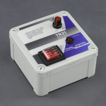 TR21, regulátor napětí plynulý 2200W (pod omítku nebo na plochu)