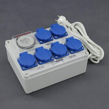 KL01, rozvaděč 4x 1200W (4+1+1), 230V