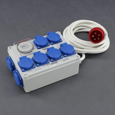 KL03, rozvaděč 6x 1200W (6+1+1), 400V 16A