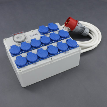 KL05, rozvaděč 12x 1200W (12+1+1), 400V 32A