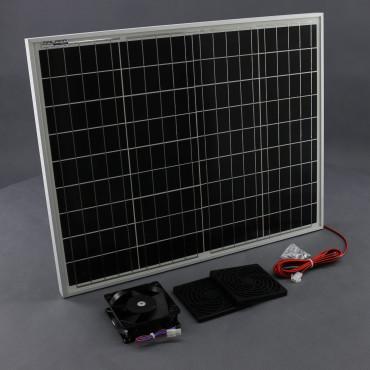S0196, 350m3/ h, 50W solární větrací systém STANDARD