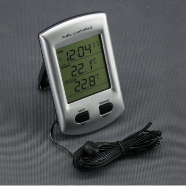 VT04, digitální teploměr (IN/ OUT) + hodiny
