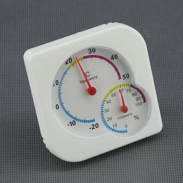 VT06, analogový teploměr + vlhkoměr (IN)