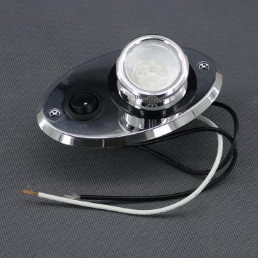 SI29, 12V/ 0,5W LED svítidlo vestavné s vypínačem MR11, 6x LED