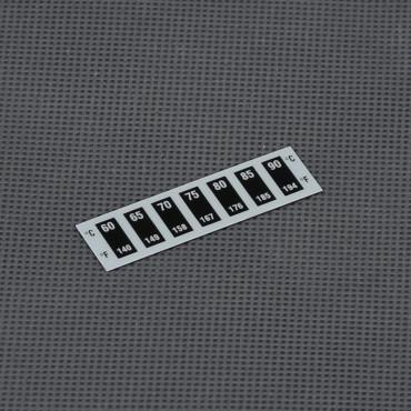 VT46, analogový ohebný samolepící teploměr 60° až 90°C