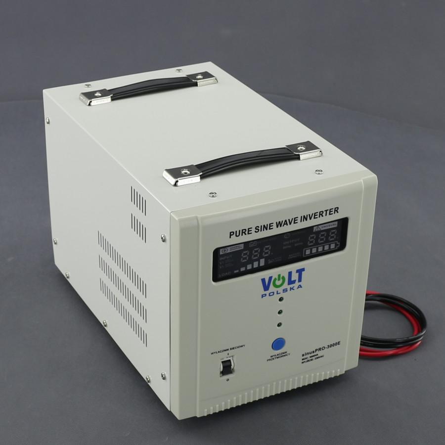 ZZ30, 2100W/ 230V záložní zdroj sinusový, pro aku 48V, (přenosný/ na plochu)