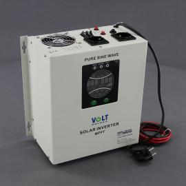 ZZ59, 1400W/ 230V záložní zdroj sinusový + SOLAR, pro aku 24V, (na plochu/ na zeď)