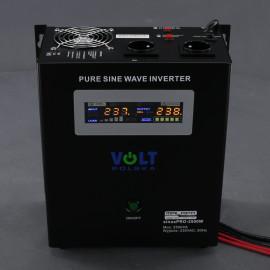 ZZ50, 1800W/ 230V záložní zdroj sinusový, pro aku 24V, (na plochu/ na zeď)