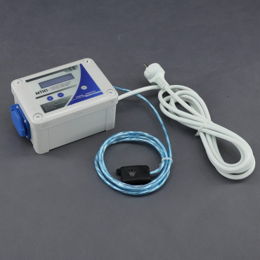MTH1, KOMBINOVANÝ digitální termostat s hygrostatem a regulací (min a max) pro odtah/ přítah