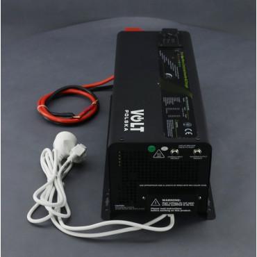 ZZ70, 3000W/ 230V záložní zdroj sinusový, pro aku 12V, (na plochu/ na zeď)