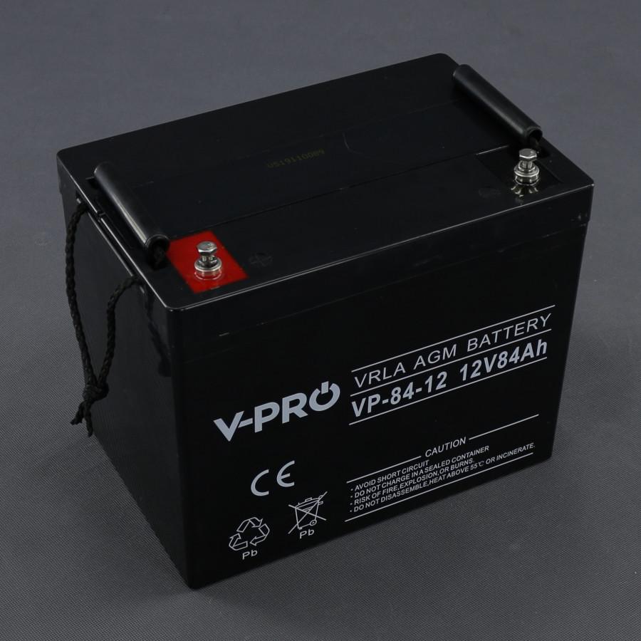 AK200, 12V/ 84h akumulátor VRLA, AGM bezúdržbový olověný