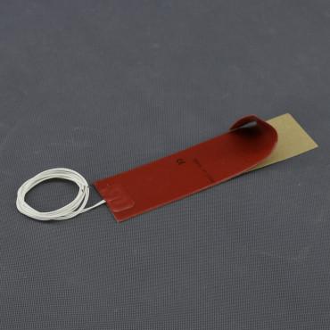 TF20, 12V/ 20W topná folie ohebná, samolepící, silikonová (200x 50mm)