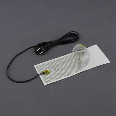 TF07, 230V/ 65W topná folie ohebná, samolepící (300x 120mm)